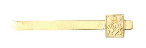 Masonic Tie Clip With G Yellow Gold Made To Order in Jewellery Quarter B'ham